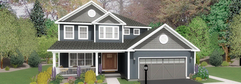Saratoga Pointe New Home Rendering